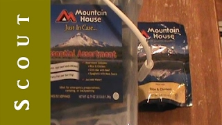 Mountain House Just In Case Emergency Food Bucket - Scout Prepper