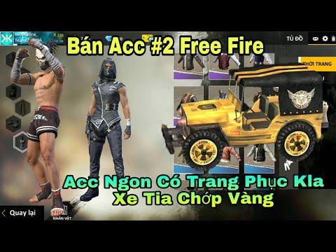 [ Garena Free Fire ] Bán Acc Free Fire LV56 Có Trang Phục Kla - Xe Tia Chớp Vàng Cực Đẹp 😍 #2