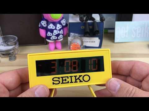Réveil Seiko Clocks QHL062Y (vendeur tiers) –