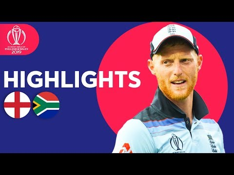 Stokes Stars In Opener! | England vs South Africa | ICC Cricket World Cup 2019 - Match Highlights