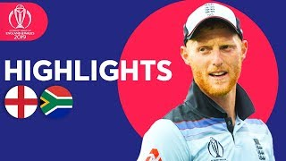 Download Stokes Stars In Opener! | England vs South Africa - Match Highlights | ICC Cricket World Cup 2019 Mp3 and Videos