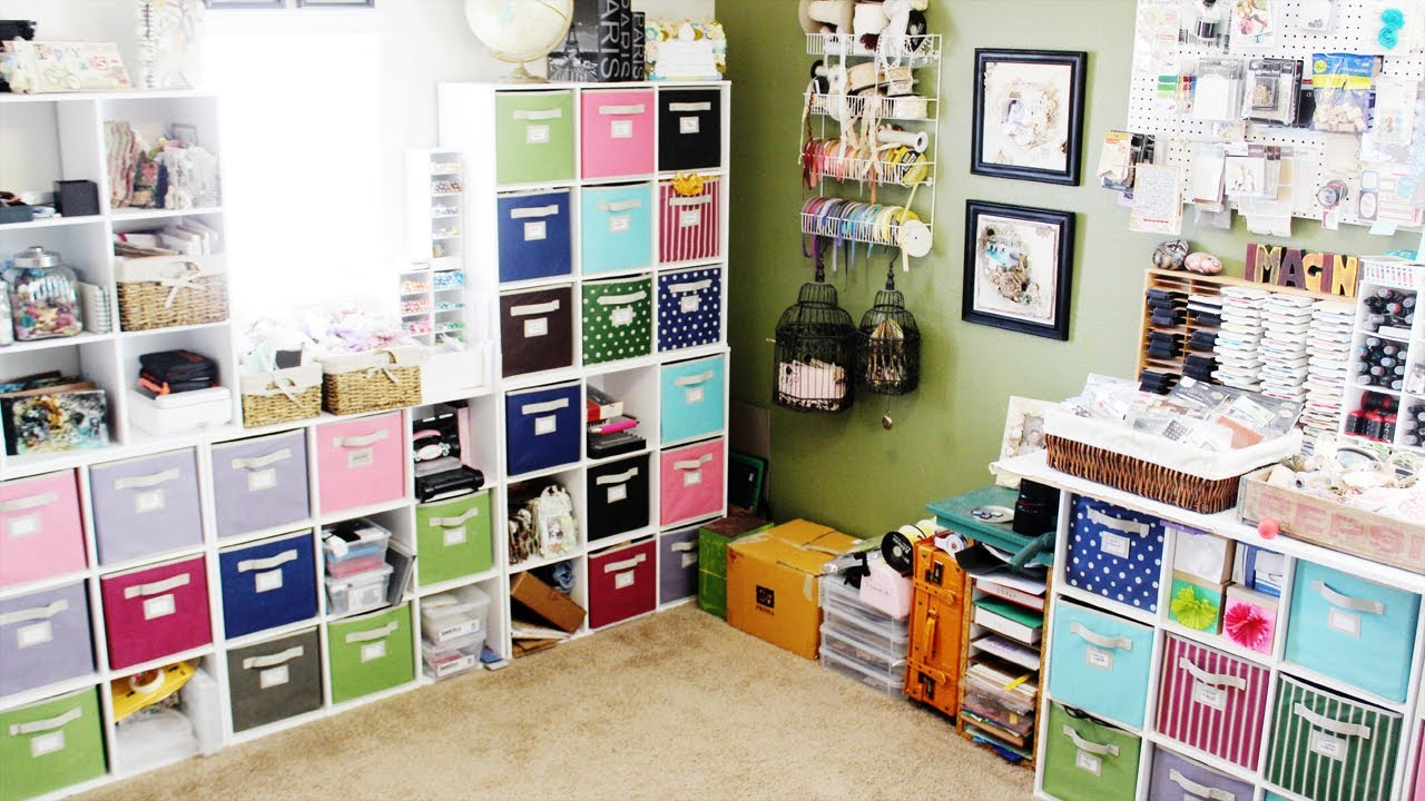 My Scrapbook Room Tour 2013 Youtube