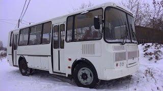 2014 ПАЗ-423405. Обзор (интерьер, экстерьер, двигатель)