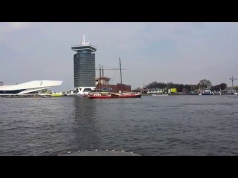 behind centraal station amsterdam