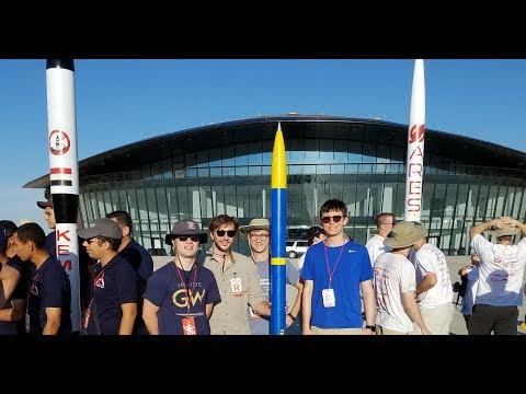 GW Rocket Team Spaceport America Cup 2017