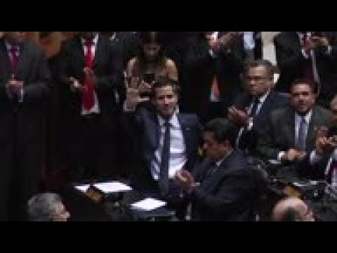 Venezuela - New Venezuela congress leader vows to fight Maduro / Venezuela's Maduro sworn in for a 2