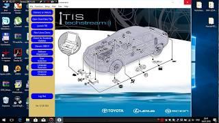 Настройка 3Line + Techstream v12