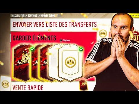 3 ICONES PRIME GARANTIES ET MES RECOMPENSES FUT CHAMPION ! FIFA 20