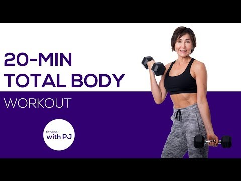 20-Minute Total Body Workout with Dumbbells  💪