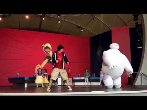 Shanghai Disneyland - Baymax Super Exercise Expo