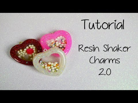 Requested Tutorial - Resin Shaker Charms 2.0