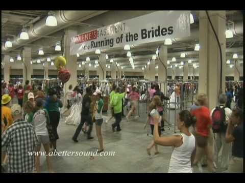 The Running of the Brides! Boston MA 2009 Hynes Convention Center - Stephen Scott Passarelli