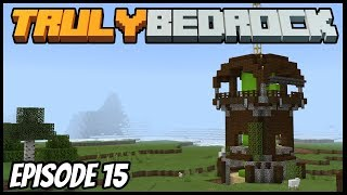 Raid Farm And Community Village Work! - Truly Bedrock (Minecraft Survival Let's Play) Episode 15