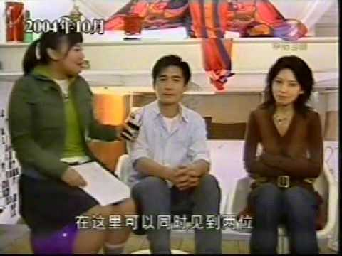 Tony Leung & Lee Eun-ju - Taking Vogue Pictures  梁朝偉與李恩珠拍攝Vogue插圖