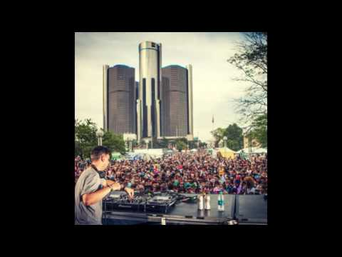 Bonobo (DJ Set) @ MOOG Stage, Movement Festival 2014 Detroit (26.05.2014)