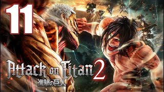 Attack on Titan 2 - Gameplay Walkthrough Part 11: Titan Capture Operation