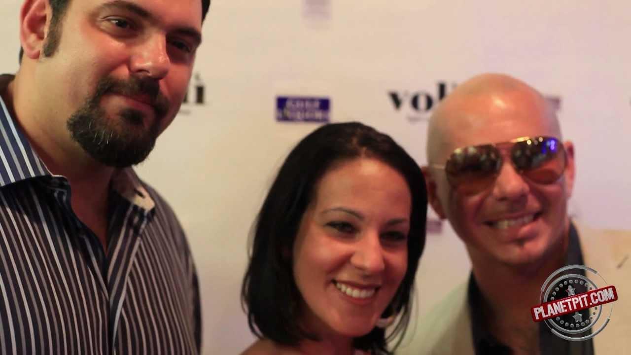 Pitbullvoli Meet Greet Gulf Liquors Miami Beach Fl Youtube