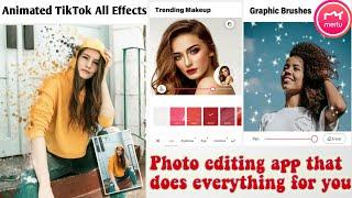 App Review Meitu Camera - Beauty Cam,Easy Photo Editor - Meitu app editing & Meitu app how to use screenshot 2