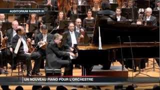 L'Orchestre Philharmonique de Monte-Carlo reçoit un nouveau piano