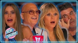 All AMAZING GOLDEN BUZZER Auditions On America's Got Talent 2021! | Top Talent