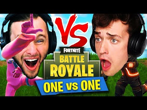 *ONE VS ONE* in Fortnite: Battle Royale! (SSundee vs Crainer)