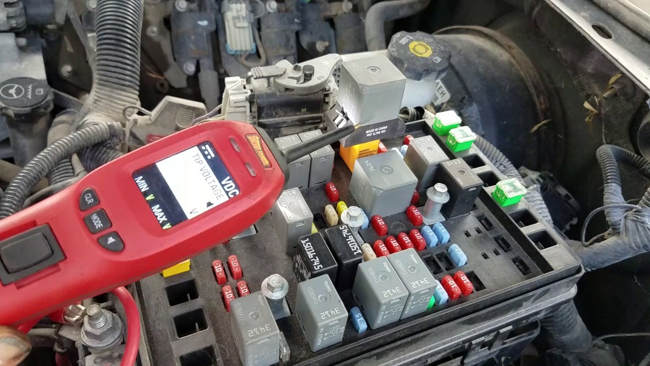 Gmc envoy dies no start bad fuse box - YouTube