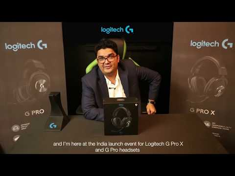 ShaDeSLaYeR unboxes the Logitech G Pro X Gaming Headset