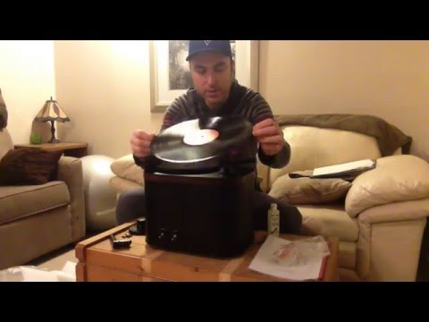 Music Hall WCS-2 Record Cleaner Unboxing and Demo