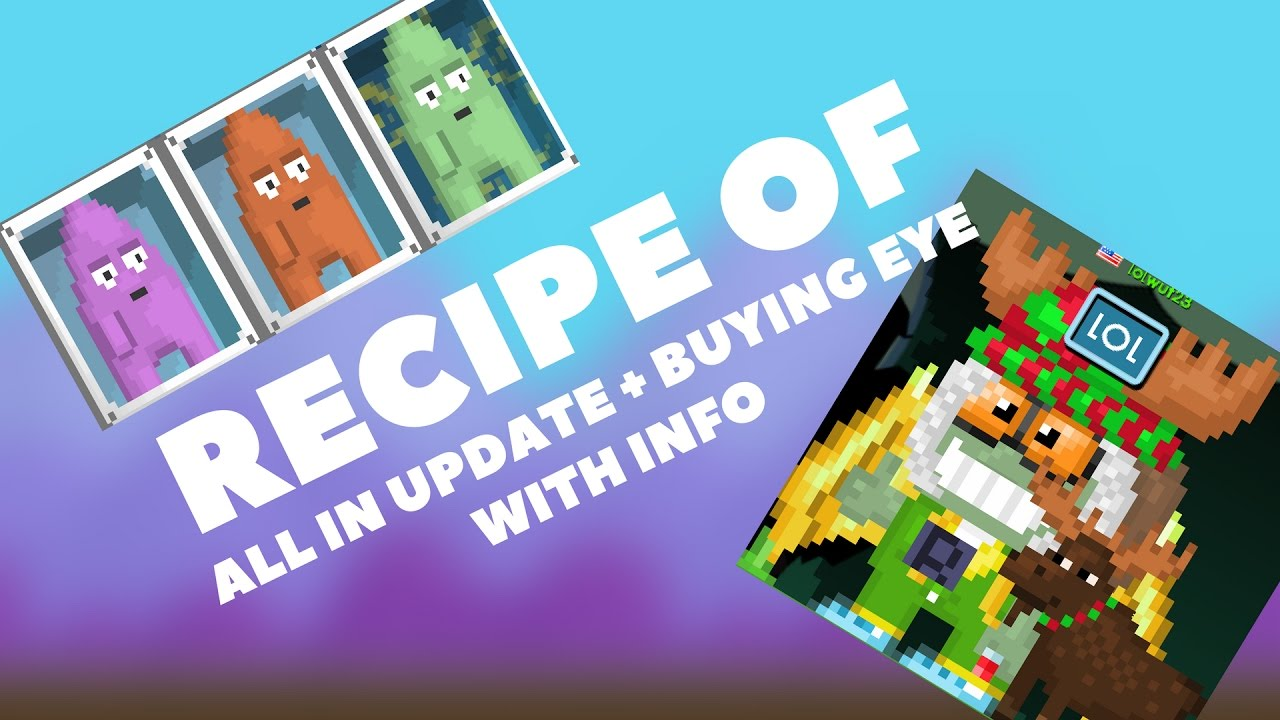 Growtopia All Recipe In Night Of Chemicals Buying