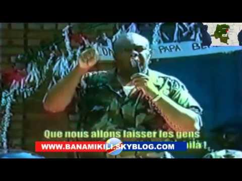 Images inédites de Jean-Pierre Bemba durant sa rébellion en 2000