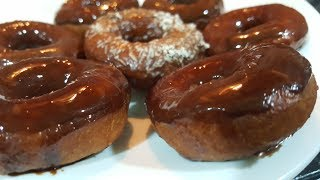 DONUTS in 15 mins - NO yeast added