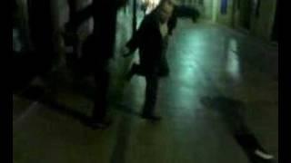 Estragos de una noche de fiesta en Huesca