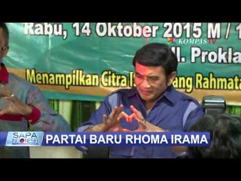Rhoma Irama Resmi Deklarasikan Partai Idaman