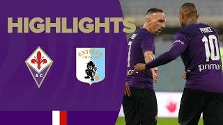 Highlights Friendly Match Fiorentina V Entella 5-1
