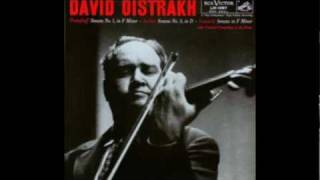 Oistrakh plays Prokofiev - Violin Sonata No. 1, Op. 80: Third Movement [Part 3/4]