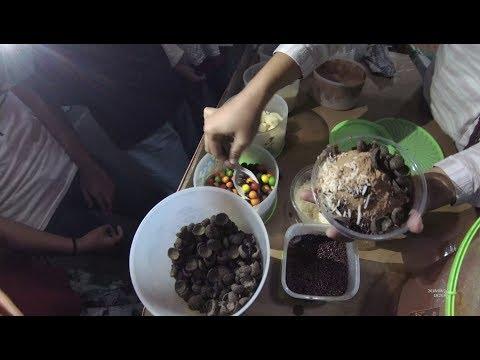 Indonesia Tangerang Street Food 2863 Part.1 Es Kepal Incess Milo YDXJ0160