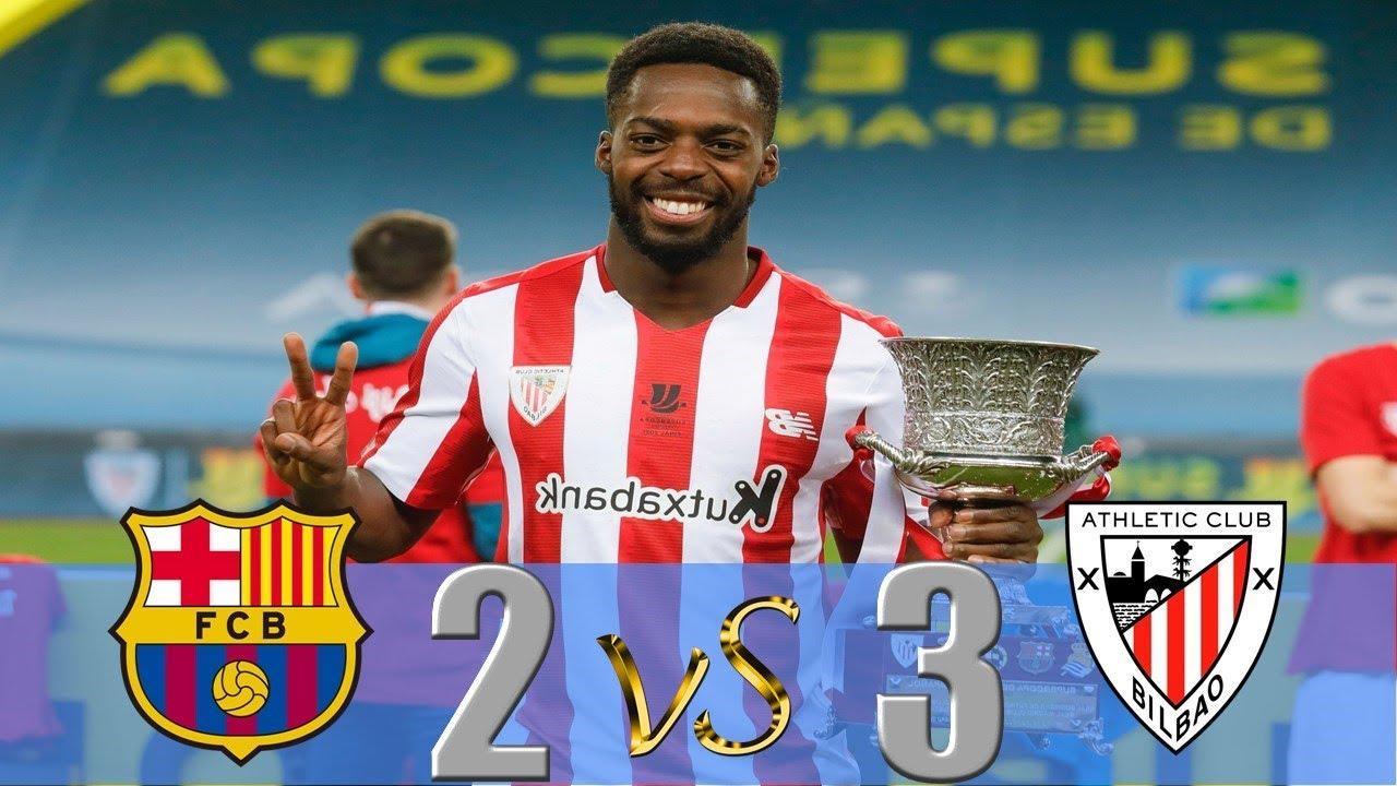 Download Barcelona vs Athletic Bilbao 2-3 - Highlights - Final Supercopa 2021