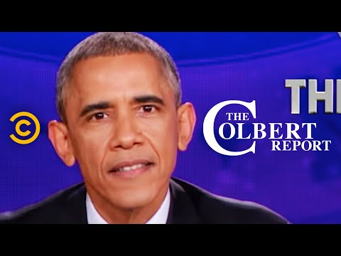 The Colbert Report - President Obama Delivers The Decree