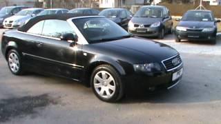 Audi A4 Cabriolet (2000) Videos