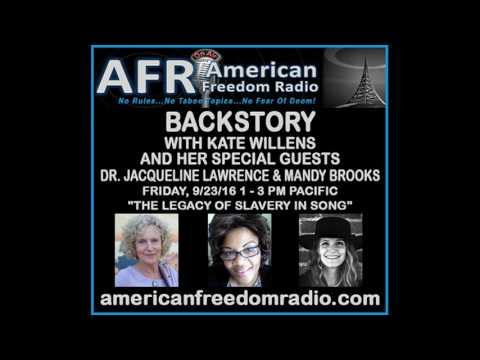 The Legacy Of Slavery in Song: Dr. Jacqueline Lawrence, Mandy Brooks And Kate Magdalena Willens