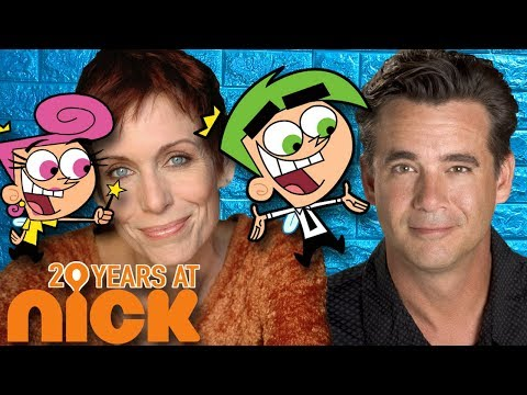 Daran Norris and Susan Blakeslee Cosmo and Wanda   Butch Hartman's 20 Years at Nick