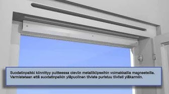 Karmiventtiilin päivitys tuloilmaikkunaksi.wmv