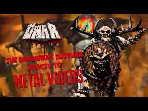 GWAR's BLOTHAR Reacts to Music Videos by MARILYN MANSON, CROWBAR, WE CAME AS ROMANS and More