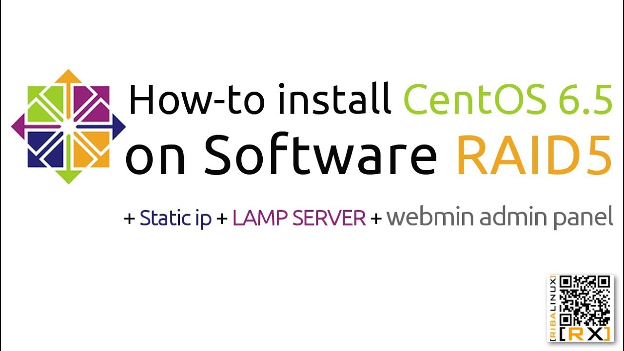 Centos Lamp How To Install Centos 6 5 On Software Raid5 Static Ip Lamp Server Webmin Admin Panel Hd