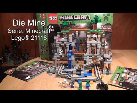 Test Die Mine / The Mine (LEGO Minecraft Set 21118 Review deutsch)