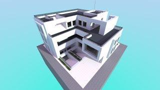 Minecraft - Modern House Build Timelapse