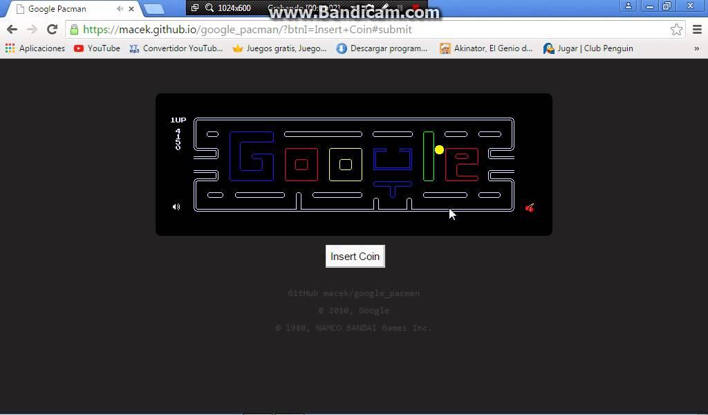 Google Pacman Comiendo Queso En Google Youtube