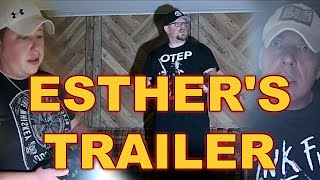 (RETURNING TO ESTHER'S POLTERGEIST TRAILER) WE ENDURE A REAL SPIRITUAL ATTACK!!