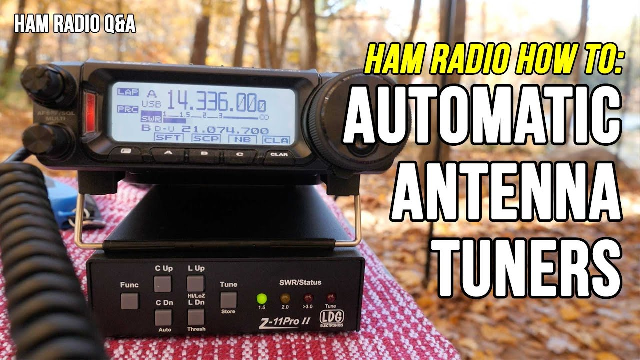 Download How to use an automatic antenna tuner with a Yaesu FT-891 (LDG Z11 Pro II)  - Ham Radio Q&A