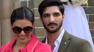 Sushmita Sen, boyfriend attend wedding together as actor's daughter turns flower girl